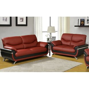 Inexpensive Donahue 2 Piece Living Room Set by Orren Ellis Reviews (2019) & Buyer's Guide