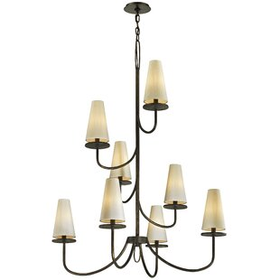 Oatman 8-Light Shaded Chandelier