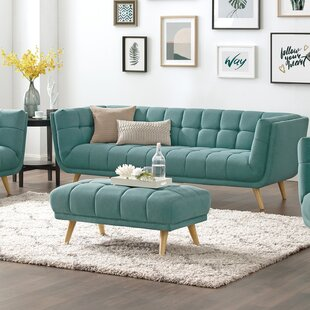 Chetram 2 Piece Configurable Living Room Set by Corrigan Studio