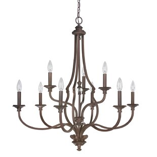 Great Price Jaclyn 9-Light Chandelier ByDarby Home Co