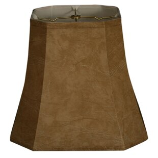 15 Faux Leather Bell Lamp Shade