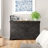 Avianna Contemporary 6 Drawer Double Dresser by Three Posts