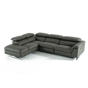 Effendi Reclining Sectional by Orren Ellis 2019 Online