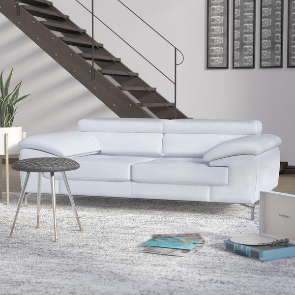 Modern & Contemporary White Italian Leather Sofas | AllModern