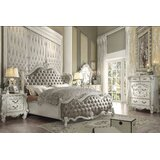 Versailles Upholstered 4 Piece Configurable Dresser Set by ColourTree
