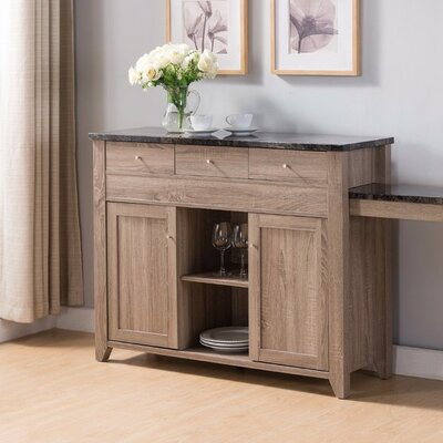 Alberto Buffet Table by August Grove