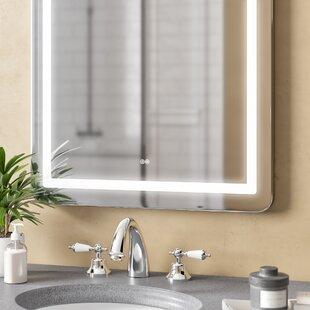 Monterey Back Lit LED Daylight Bathroom Mirror by Orren Ellis