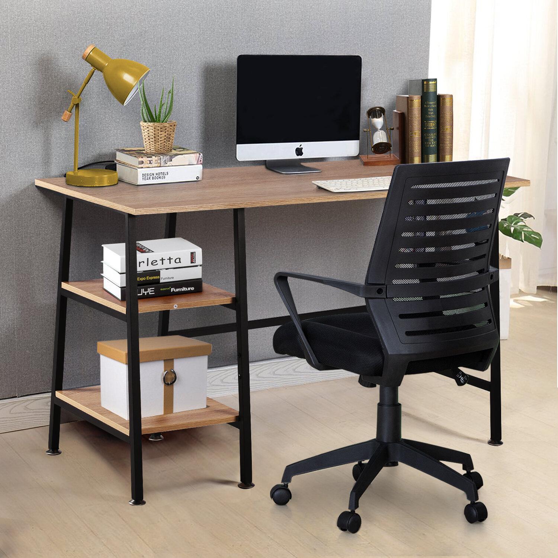 Latitude Run® Turker Reversible Desk and Chair Set & Reviews | Wayfair