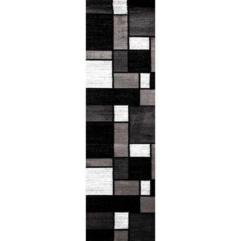 Wade Logan Lorenzo Geometric Gray Black
