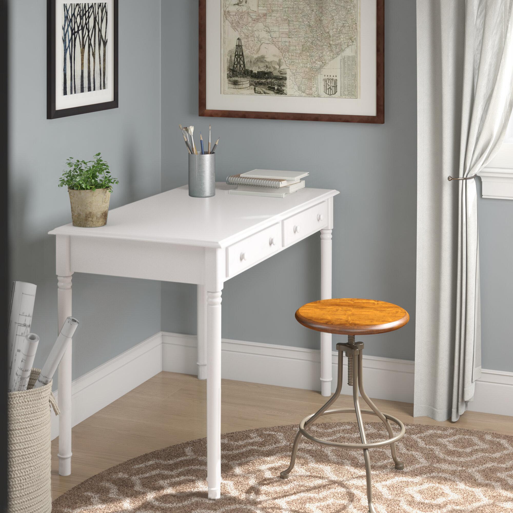 White Writing Desks You Ll Love In 2020 Wayfair