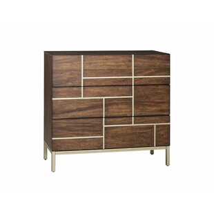 Ghislain 3 Drawer Accent Chest By Bloomsbury Market