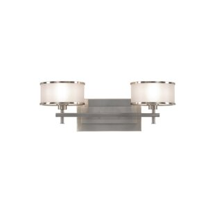 Deals Millerton 2-Light Vanity Light By Darby Home Co