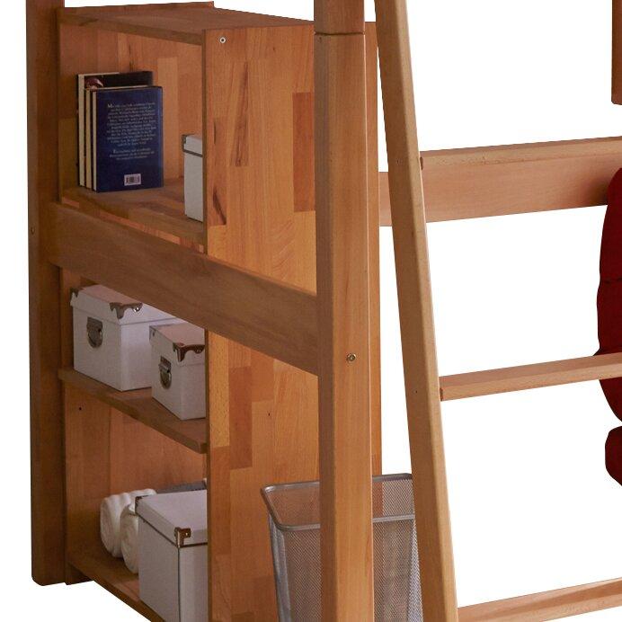 ticaa hochbett tanja mit schr gleiter 140 x 200 cm bewertungen. Black Bedroom Furniture Sets. Home Design Ideas