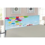 Circus Queen Upholstered Panel Headboard by East Urban Home