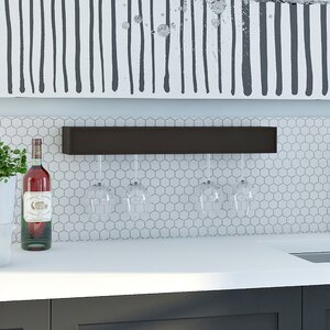 Banda 6 Bottle Wall Mounted Wine Rack