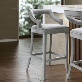 Amabilia 26 Bar Stool Everly Quinn