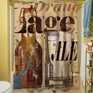 Old Lager Single Shower Curtain