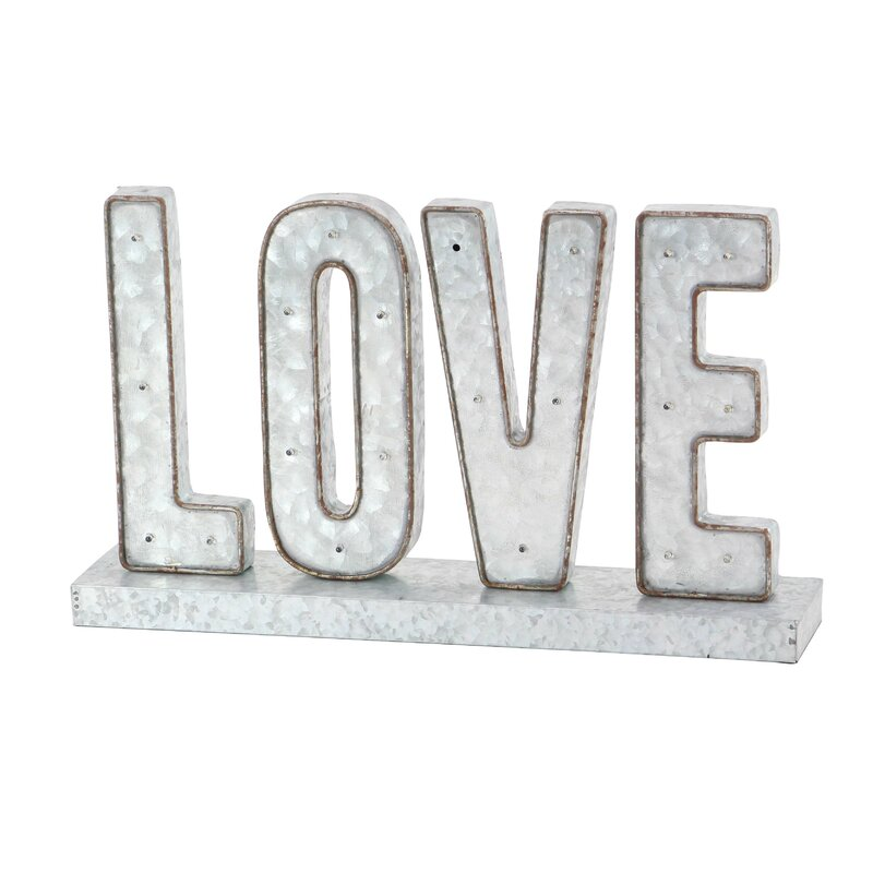 Modern Love LED Marquee Sign