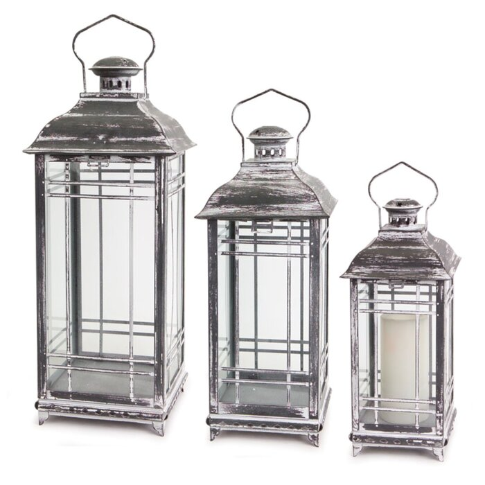 metal lantern decor