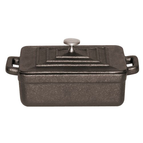 Paderno World Cuisine Tabletop Cookware 0.01 Qt. Cast Iron Rectangular  Casserole | Wayfair