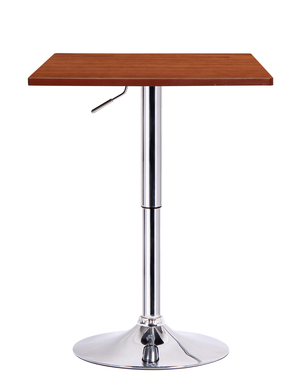 Boraam Luta Adjustable Height Pub Table Reviews Wayfair