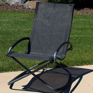 Casas Folding Rocking Lounge Chair (Set of 2) by Red Barrel Studio