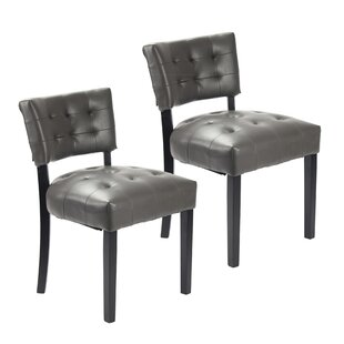 Tematin Upholstered Dining Chair (Set of 2)