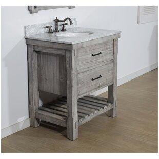 rustic chic bathroom vanities wayfair rh wayfair com rustic bathroom cabinets for sale rustic bathroom cabinets vanities