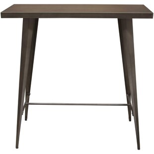 Taveras Metal Rectangular Pub Table by Williston Forge