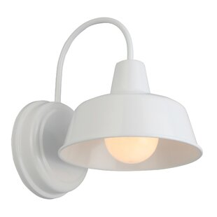 Price comparison Shamong 1-Light Indoor/Outdoor Barn Light By Gracie Oaks