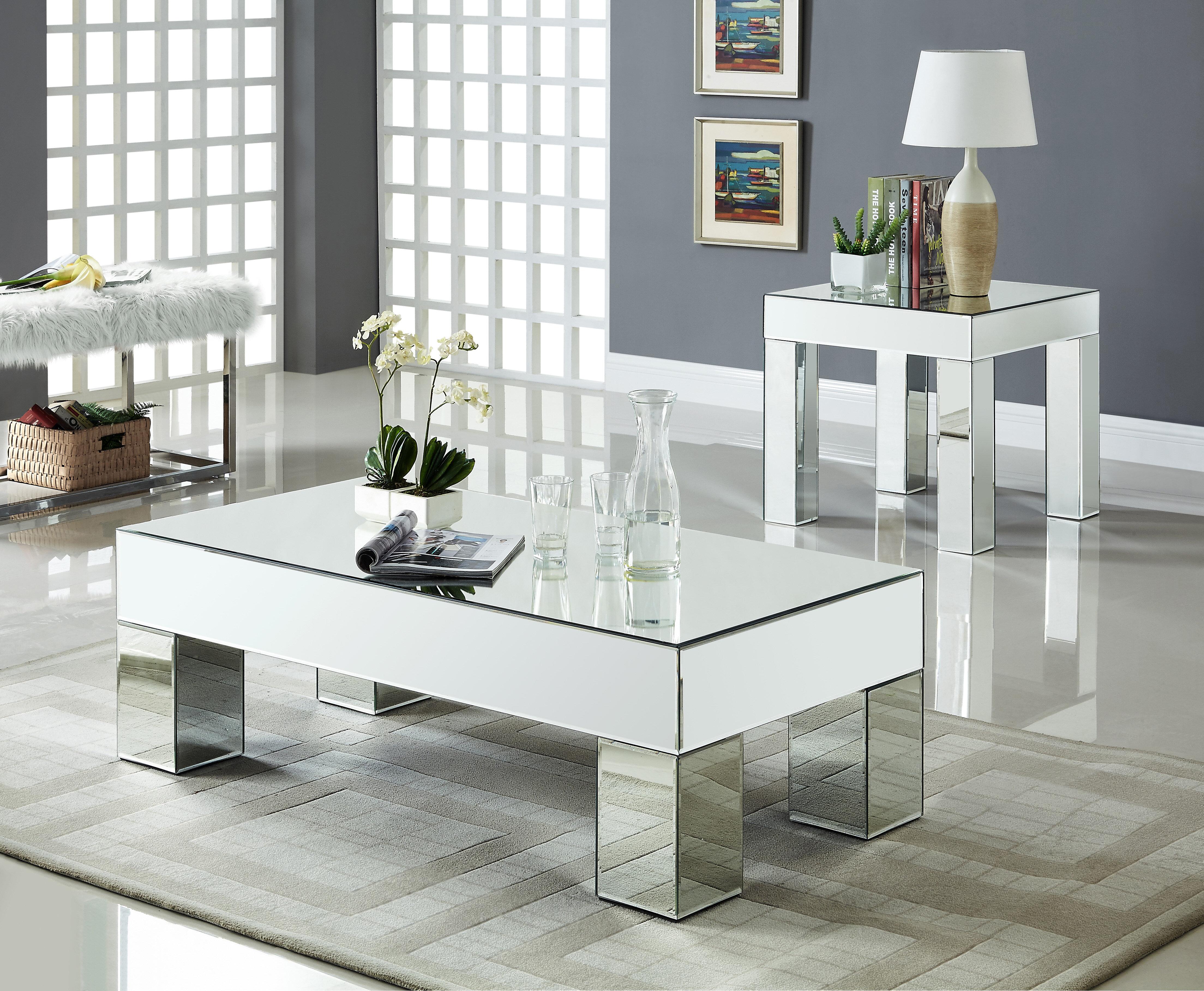 house of hampton nevels 2 piece coffee table set mrus1797