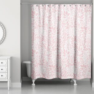 Fernando Floral Pattern Single Shower Curtain