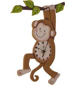 Fantasy Fields Sunny Safari Monkey Wall Clock