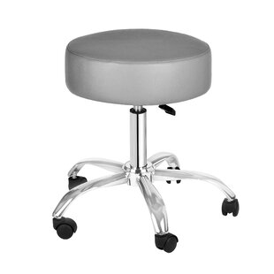 Pam Height Adjustment Lab Stool by Orren Ellis Best #1