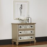 Erica 3 Drawer Dresser by Rosdorf Park