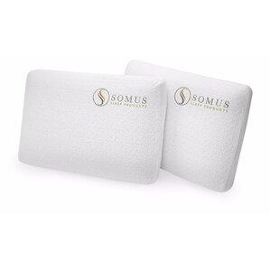 Somus Supreme Memory Foam Standard Pillow (Set of 2) by Somus