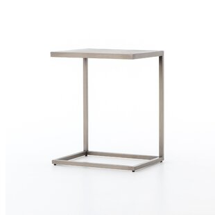 Stepanie C End Table by 17 Stories