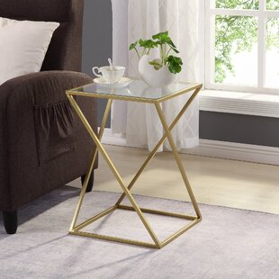 Held Geometric End Table