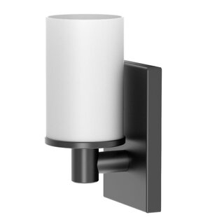Read Reviews Farmhouse 1-Light Armed Sconce By Gatco