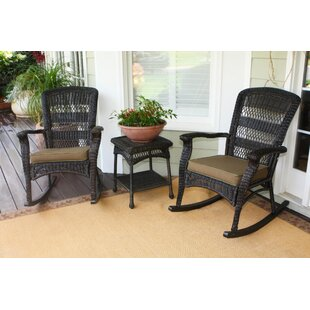 Ray 3 Piece Conversation Set With Cushions by Alcott Hill Today Sale Only