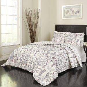 Jaziel 3 Piece Reversible Comforter Set