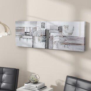 u0027Serenityu0027 Painting on Wrapped Canvas & Serene Wall Art | Wayfair