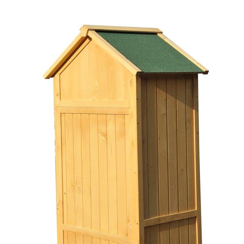 Bel Etage Ft X Ft Wooden Garden Shed Reviews Wayfair