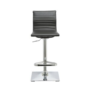 Kranz Adjustable Height Swivel Bar Stool ..