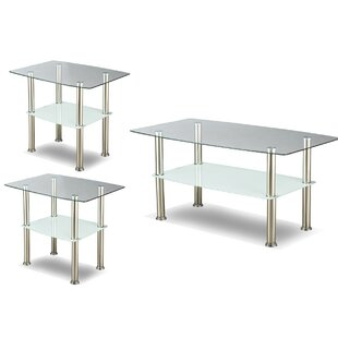 Rath 3 Piece Coffee Table Set