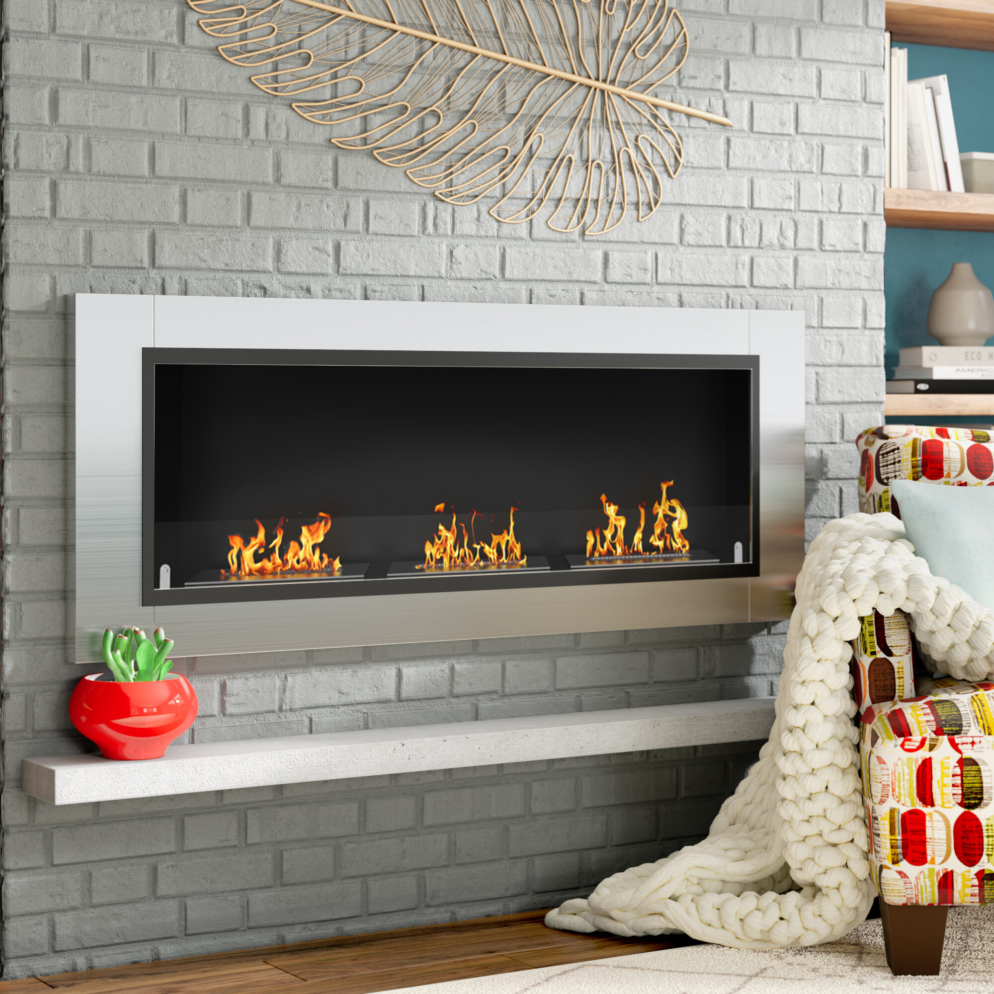 bio fireplace ready pictures atlantic wall fireplaces product ae bioethanol ethanol decoflame tower mounted made