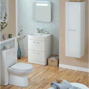 Badezimmer-Set mit 60 cm Waschtisch von Kartell