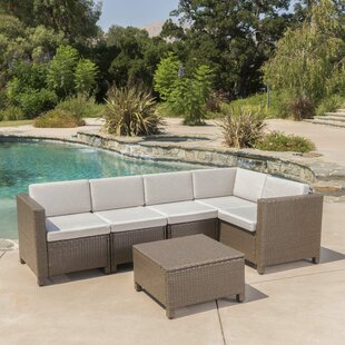 Jemaine 6 Piece Sectional Set with Cushions