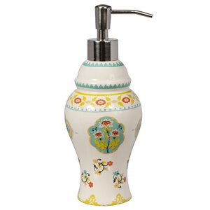 Sasha Bright Ceramic Lotion Dispenser