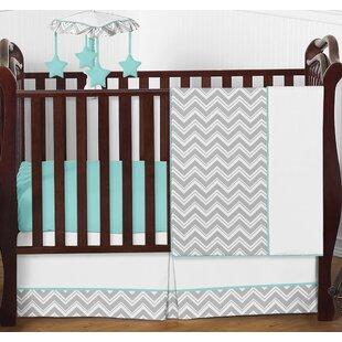Buy clear Zig Zag 4 Piece Crib Bedding Set BySweet Jojo Designs